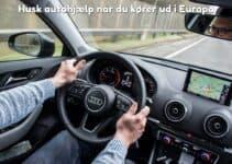 Husk autohjælp når du kører ud i Europa
